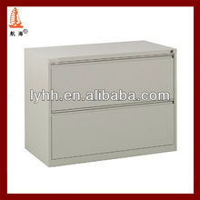 Utility high quality 2 drawer steel card cabinet