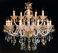 15 Arms Free Shipping Modern Chandelier Lamp Cristal with 3 Year Warranty D620 H730mm