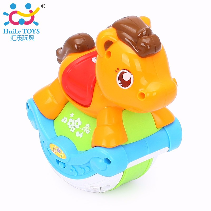 2017 Hot selling Huile Toys Sliding Dog with Music Light