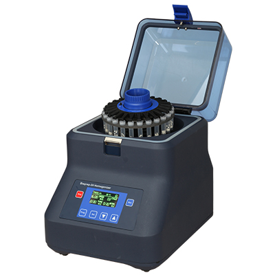 Bioprep-24 Mini-Homogenizer for Pathogen screening of soil or water research