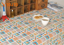 The new cartoon zoo cotton printed cloth tablecloth
