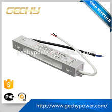 12w 12v 1A single output type led driver constant voltage waterproof switching power supply