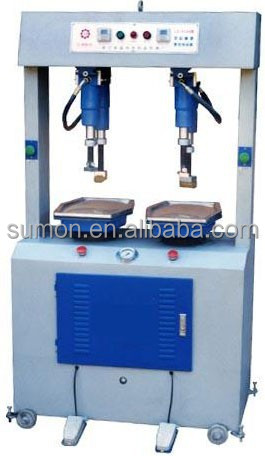 LZ-608 Double-Head High Speed Hydraulic Machine, Hydraulic Wall Type Shoe Sole Pressing Attaching Machine