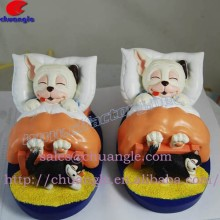 Cartoon Resin Figurines, Custom Design Resinic Aniaml Handicrafts, Polyresin Animal Artworks