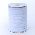 White Knitted Rubber Braided Elastic Band Manufacturer