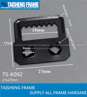 photo frame accessories picture frame silf fix hanger with two holes tsk092 27*27mm