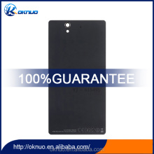 With NFC Connector Battery Door For Sony Xperia Z L36H L36i L36 C6603 C6602 LT36 New Replacement Back Cover Housing with LOGO