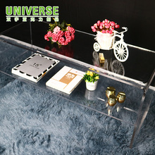 UNIVERSE Clear Acrylic Nesting Coffee End Side Tables Living Room Furniture