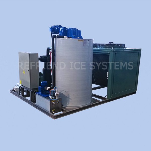 5T Industrial Flake Ice Making Machine With Ice Room