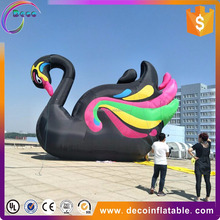 exhibition decoration giant inflatable animals cartoon character swan goose