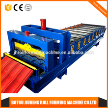 Glazed tiles colored steel metal roof and wall pan machine