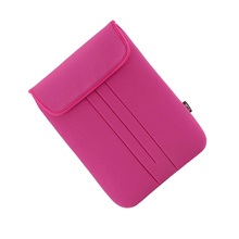 LSS New Design Soft Foam Material Sleeve Bag Cover Case Fastener Tape 15-inch for MacBook Pro Retina Ultrabook Laptop Notebook