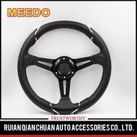 35mmdish Leather/PVC/Suede car steering wheel