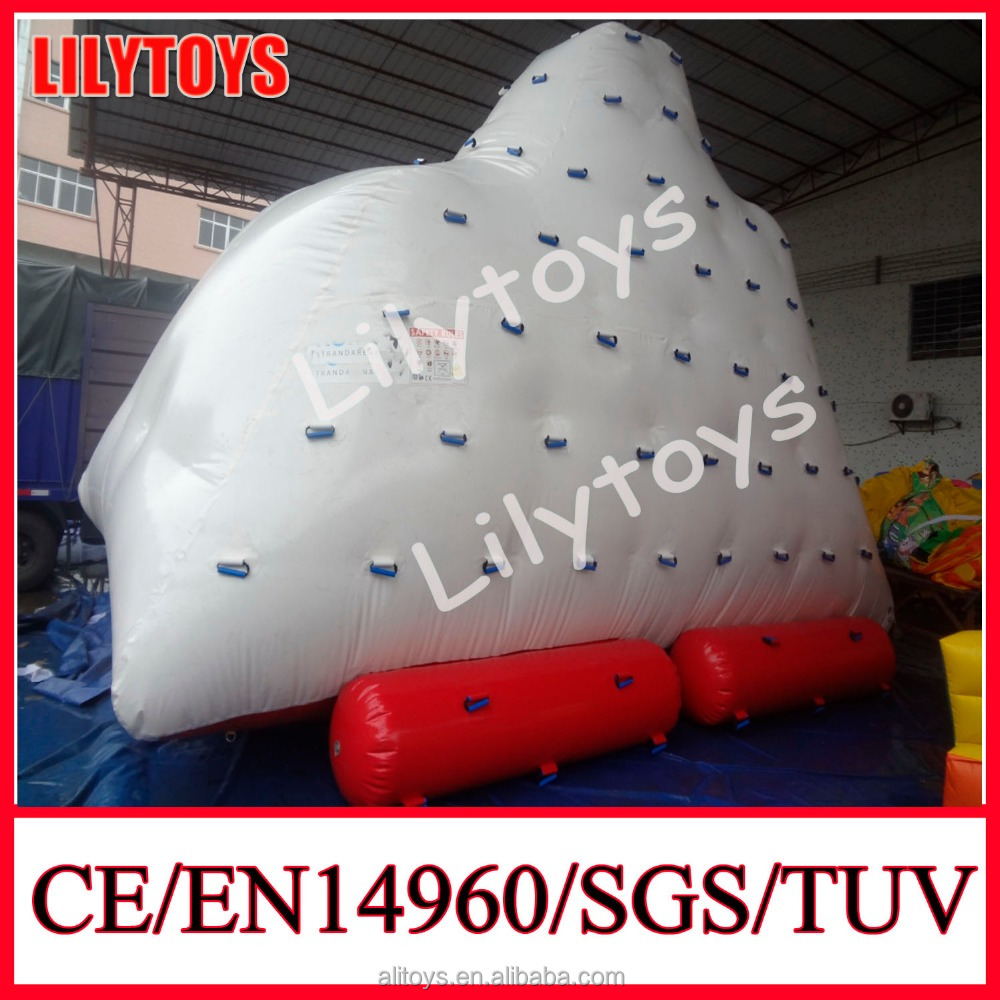2016 summer Crazy Inflatable Water Park Toy Iceberg clibm toys for sale