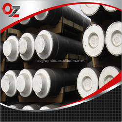 Low sulfur and low specific resistance HP graphite electrode