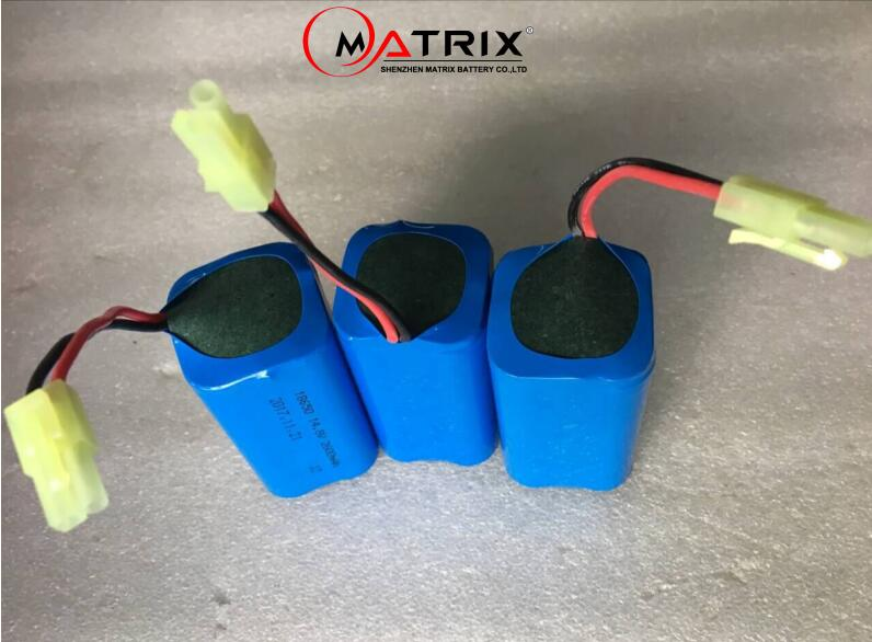 high power lithium ion battery 14.8V 2600mAh 3000mah vacuum cleaner battery NiMH battery replacement