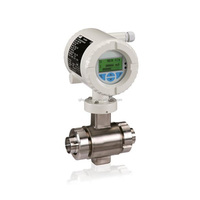 FEH300 Series magnetic flow meter sensor with transmitter for the food & beverage, pharmaceutical and biotechnical industries
