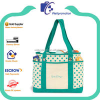 Wellpromotion promotional cheap fashion canvas large cute tote shopping bag