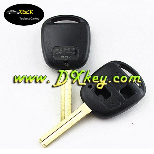 same with orignal car remote control case with 2 button for lexus car key lexus key case toy 41 blade
