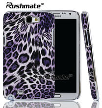 Hotsale Leopard Print Mobile Phone Accessories For Samsung Galaxy Note2 N7100 Electrical Case Covers