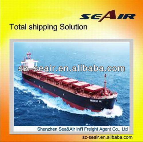 Best sea freight rates consolidated sea shipping and logistics service from Shenzhen China to UK LANCASTER