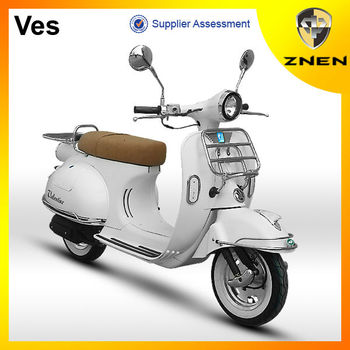 The new model: classical, retro and durable 50CC Vespa with certificates of EEC, EPA, DOT
