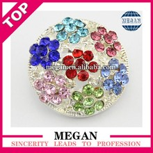 Guangzhou Rhinestone Flower buttons for wedding jewelry/wedding clothing