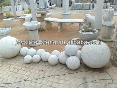 Boules de pierre pour jardin d coration boules de pierre produits en pierre jardin id de - Decoration jardin boule pierre ...