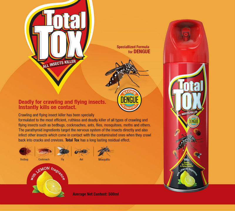 Total Tox Aerosol Insecticides