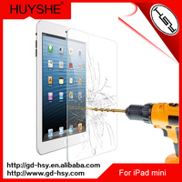 HUYSHE 9h hd screen projection film for ipad mini tempered glass screen protector for ipad mini