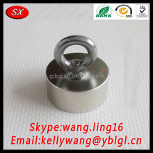 China Manufacturer Customize Super Strong Neodymium Magnets, N52 Rare Earth Magnets Block 55 25MM With Hole 10mm