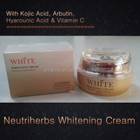 Hot Selling Cosmetics Skin Care Herbal Extract Effectively Brightening Joyful Whitening Cream