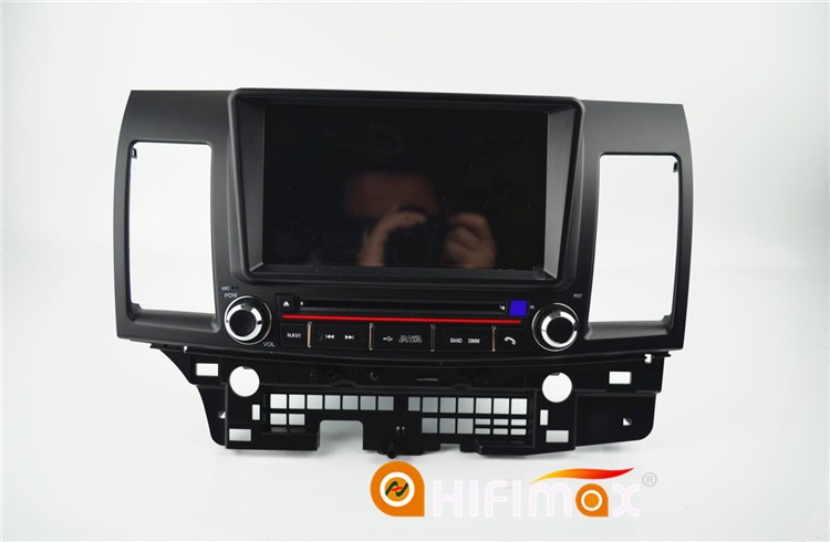 Hifimax Android 5.1 double din car gps for lancer for mitsubishi lancer touch screen car radio 2-din android gps