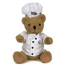 Custom Plush Toy Manufacturer Chef hat Teddy Bears