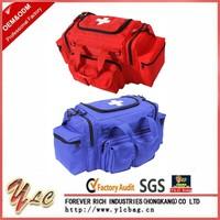 Red Tactical EMT First Aid Emergency Medical Kit Concealed Carry Bag Shoulder Bag