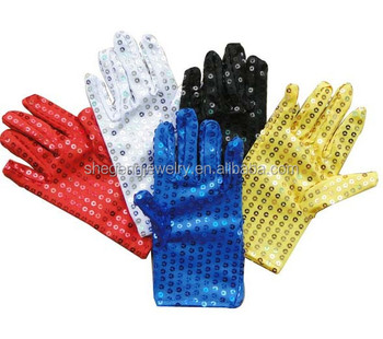 New Fashion Unisex Sparkling Shiny Sequin Gloves