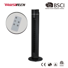 42 Inch Oscillating Electric Air Cooling Plastic Tower Fan With Remote Control