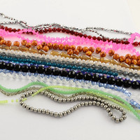 Bead Landing Mixed Colored Glass Beads Strings Wholesale