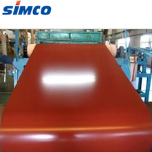 Color coated steel coils PPGL zinc aluminum roofing sheet