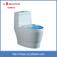 Sanitary ware white colored jet flush one piece toilet ceramic toilet wc sizes