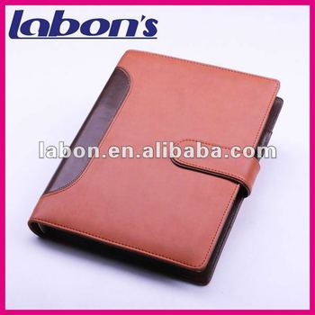 new design file folder with pen or A4 notepad