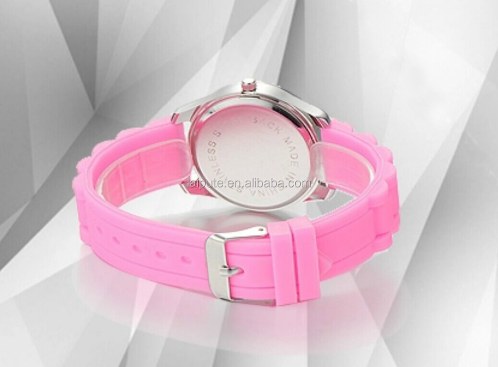 2016 relojes de mujer quality customised silicon lady watch promotional gift watch