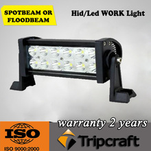 36w led car trucks light bar 7.5 inch 2520LM 36W Epistar LED Light Bar for argo offroad buggy