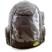 Utility nylon laptop backpack for adults