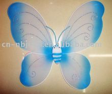 silk material children gift butterfly wings dresses