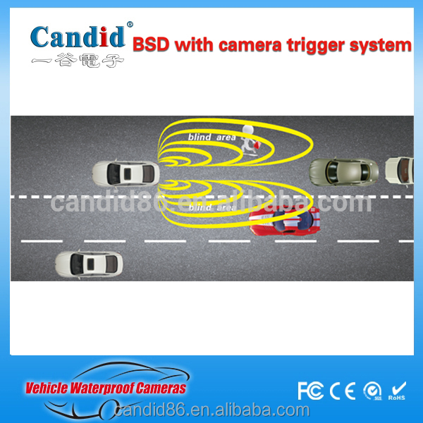 universal type 24 GHZ Microwave Radar blind spot monitoring system for truck and car