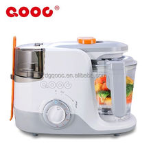 Instant heating baby food processor