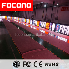 Football Field LED Display Outdoor Sign Sport LED Advertising Banner Arena Perimeter led screen