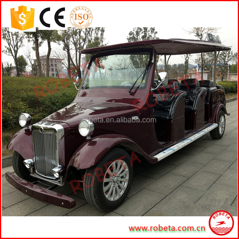 Battery Operated Passenger car luxury electric car hotel car