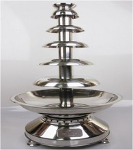 Luxury 6 Tiers Party Hotel Commercial Chocolate Fountain 39.5'' Large